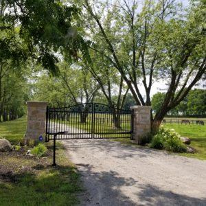 Stone Gate in Burlington