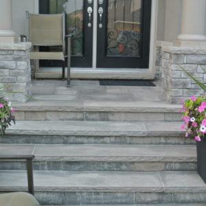 Stone Entrance in Oakville