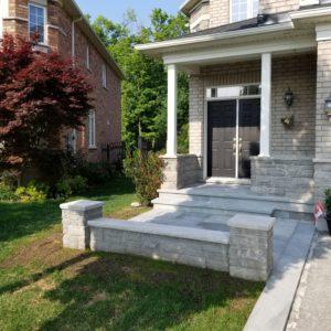 Stone Porch in Brampton