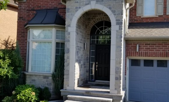 Stone Porch in Oakville