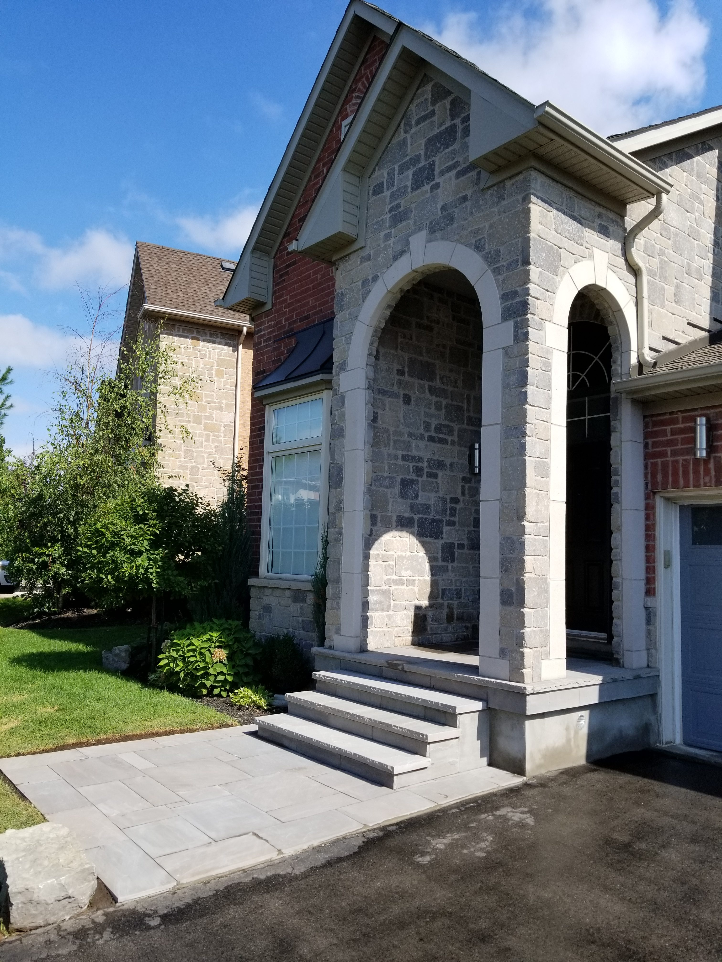 Stone Porch in Oakville